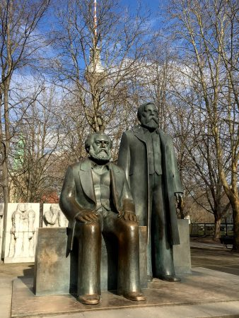 Marx, Engels and Berlin Observation Tower