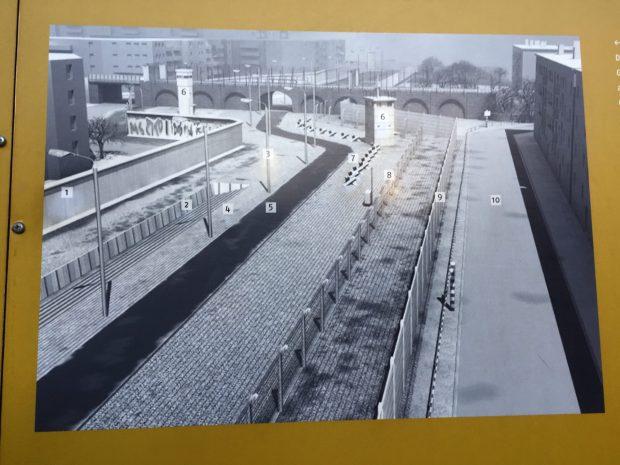 Berlin Top Ten sights: construction of the Berlin Wall