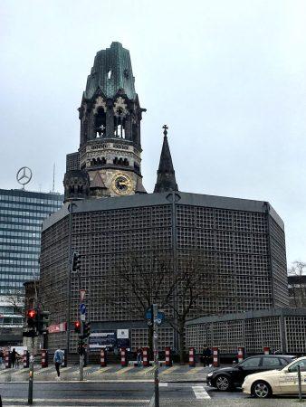 Kaiser Wilhelm Memorial Church, Berlin's Top Ten sights