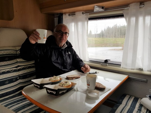 Cheers! We just bought a motorhome.