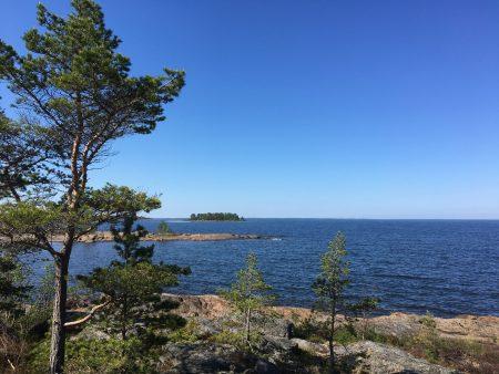 Fäboda sea view, Ostrobothnia, Finland
