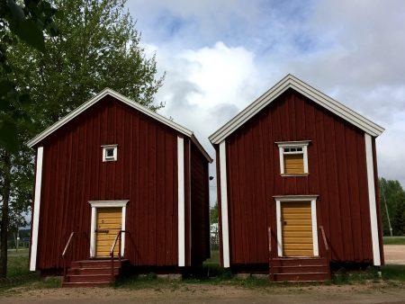 Grain storages of Hämes-Havunen, Kauhajoki