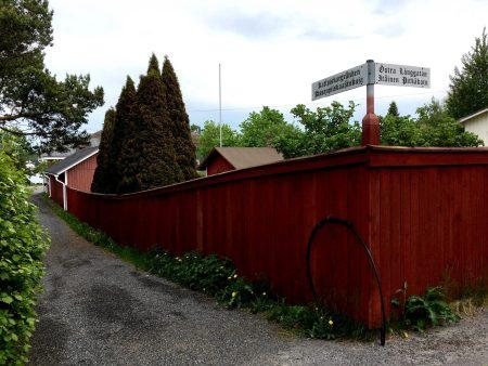 Kattpiskargränden, Kristinestad
