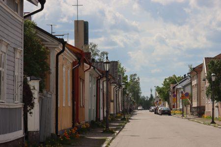 Typical street of Neristan, Kokkola