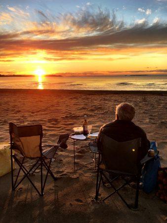 Ostrobotnia road trip: Storsand sunset dinner