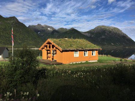 Drive through the Lofoten Islands: a Lofoten village house
