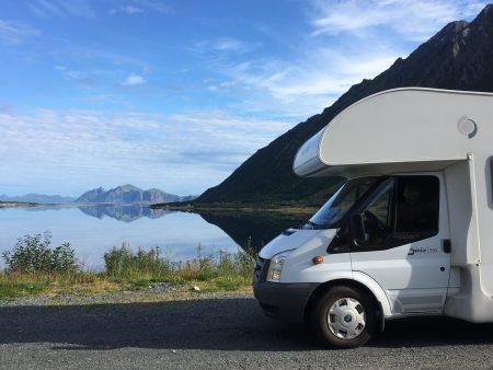 Drive through the Lofoten Islands