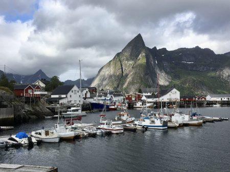 Hamnøy fishing village, Norwegian Scenic Route in Lofoten