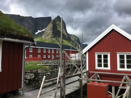 The Norwegian Scenic Route in Lofoten: Reine rorbuer