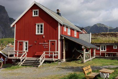 A Reine hotel, Lofoten