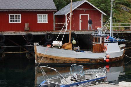 Nusfjord fishing boat, Lofoten