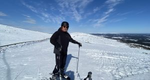 Arctic Lapland spring: on the fell top, Ylläs, Lapland