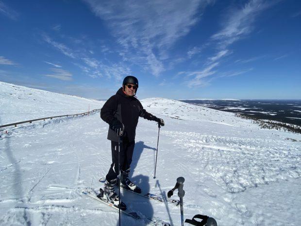 Arctic Lapland spring: on the fell top, Ylläs, Lapland