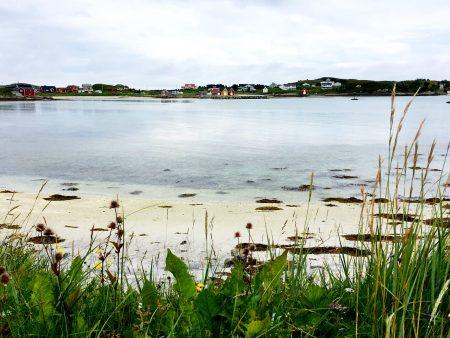 A Sommaroya beach, North Norway