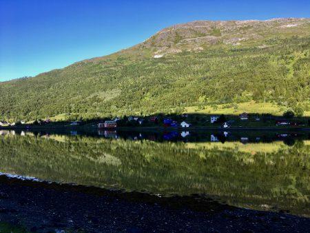 Norway by motorhome: a Kvaloya fjord