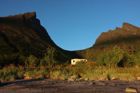 Norway by motorhome: camping in Senja