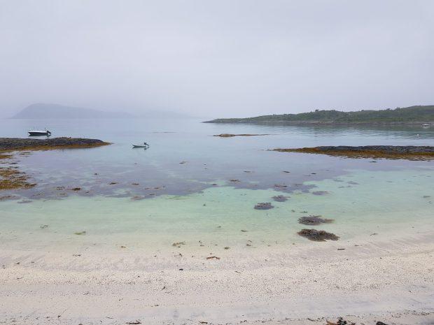 Rainy day in Sommaroya, Norway
