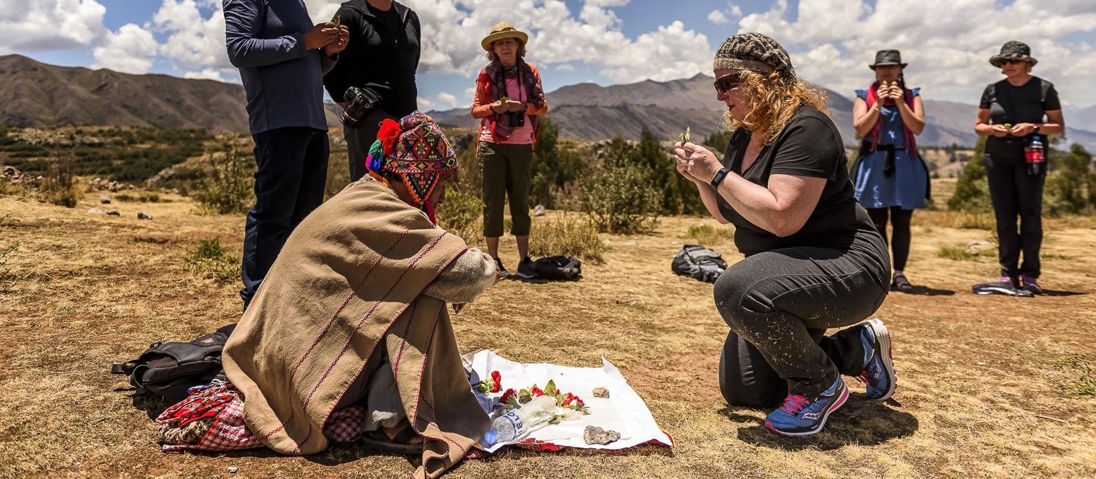 Cérémonie despacho, Cusco, Pérou - Voyage organisé en petit groupe offert par l'agence de voyage Les routes du Monde