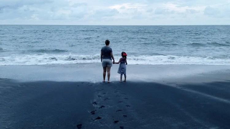 Panama Vacation - Part 1 - Nueva Gorgona and Anton Valley - Mom and daughter