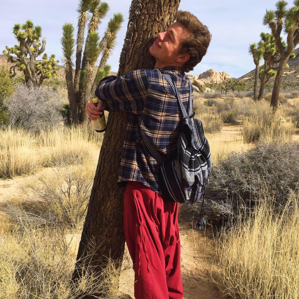 evolve: tree hugging in Joshua Tree
