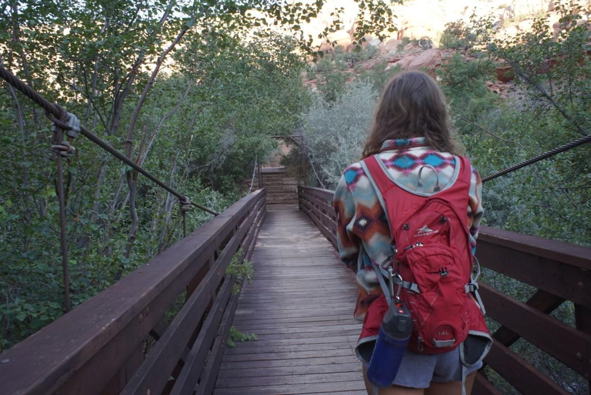 Calf Creek Falls campsite