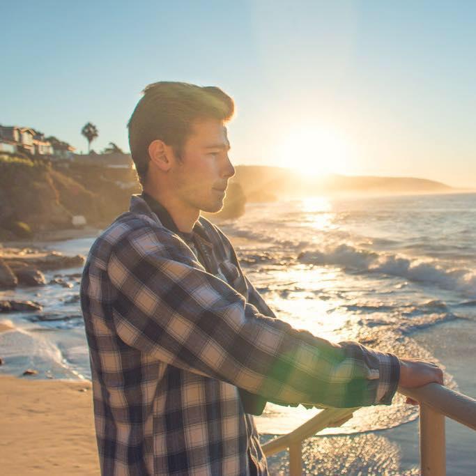 thinking in Laguna Beach
