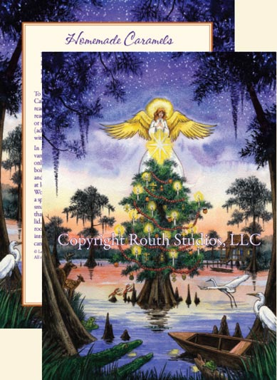 Blue Bayou Angel Christmas Cards C13BBA Routh