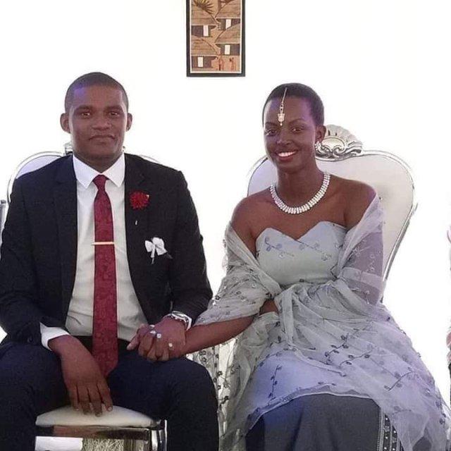 Flavia Tumusiime and Andrew Kabuura