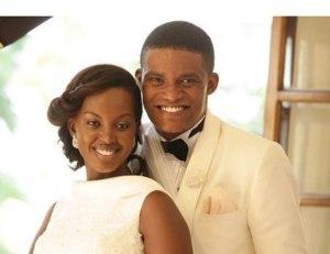 Andrew Kabuura and wife, Flavia Tumusiime