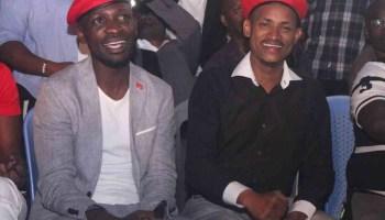 Bobi Wine with Babu Owino