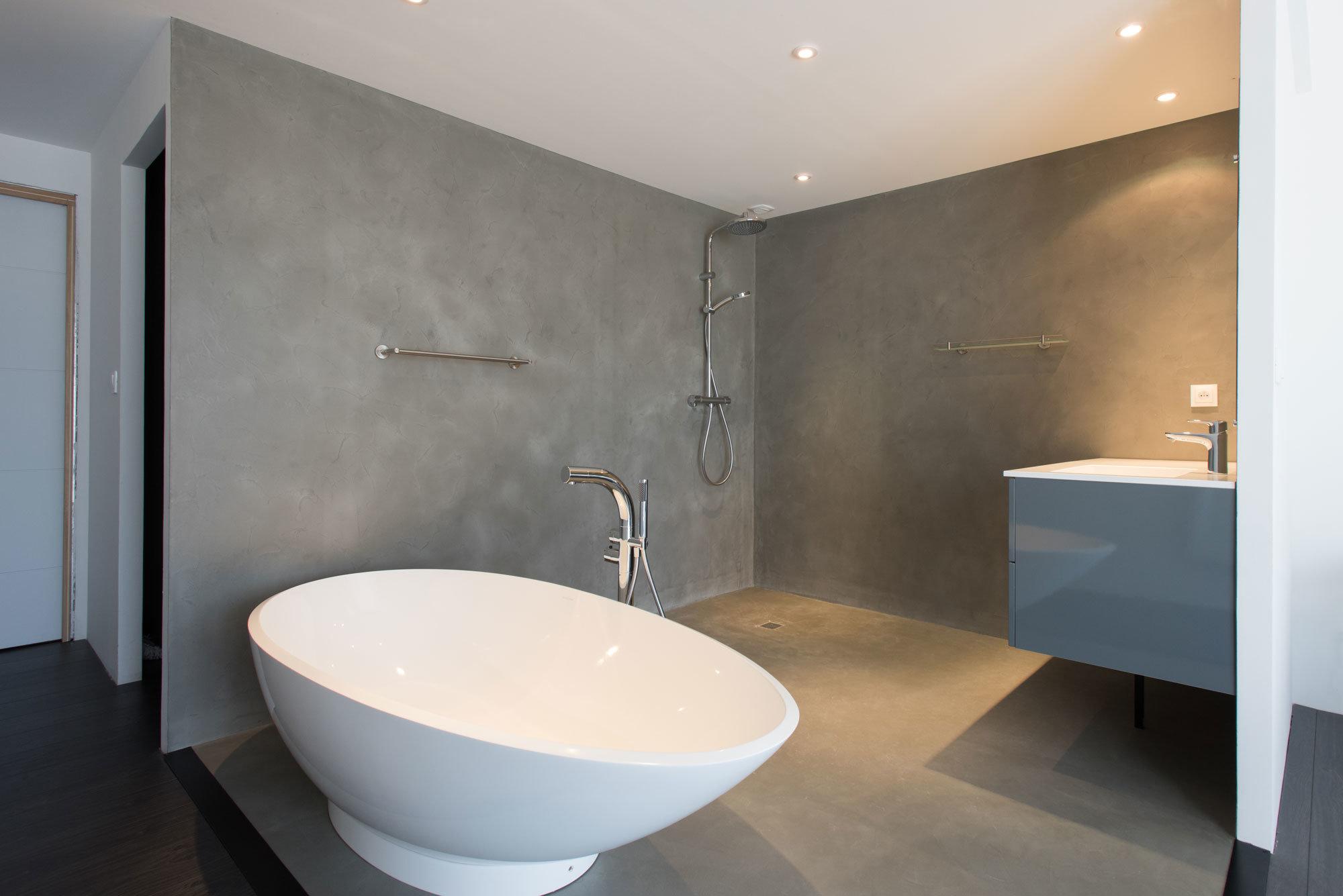 decoration de salles de bains en micro