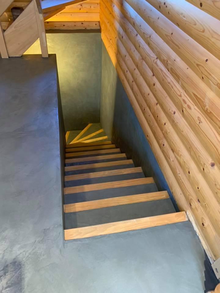 Modernisez Vos Escaliers Avec Un Revetement Enduit Beton Cire