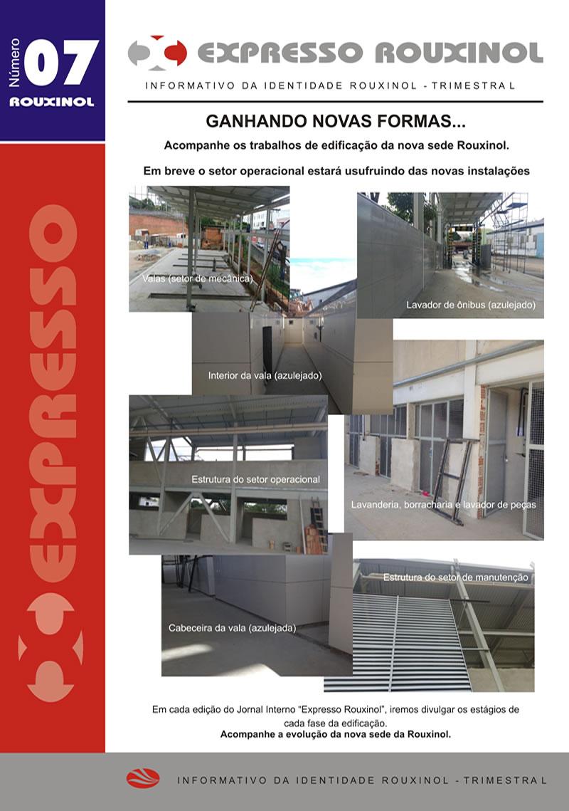 Jornal Expresso Rouxinol - Nº07 capa