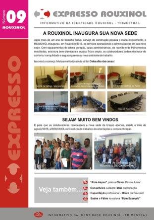 Jornal Expresso Rouxinol - Nº09 capa