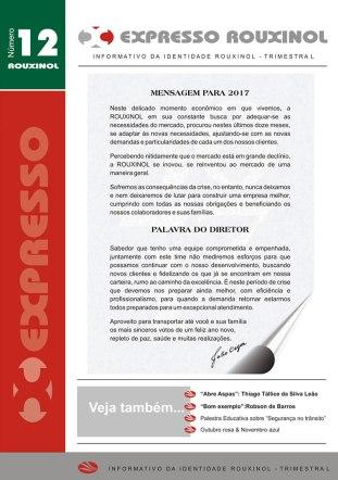 Jornal Expresso Rouxinol - Nº12 capa