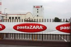 Lo stabilimento di Pasta Zara a Rovato