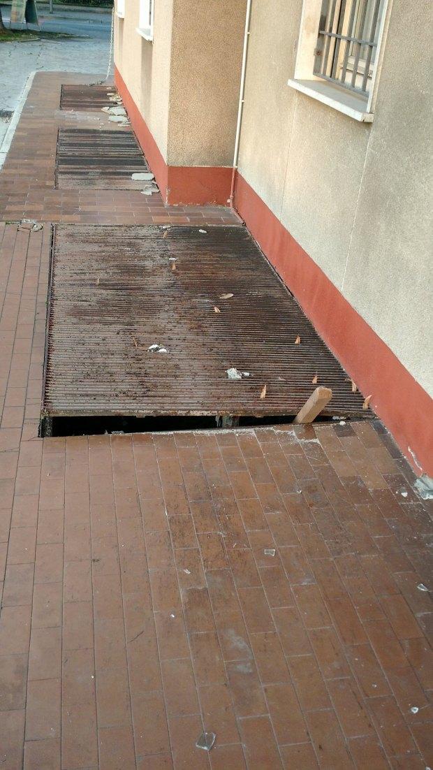 Il nuovo tentato colpo all'edicola Lazzaroni di Rovato, foto da Facebook
