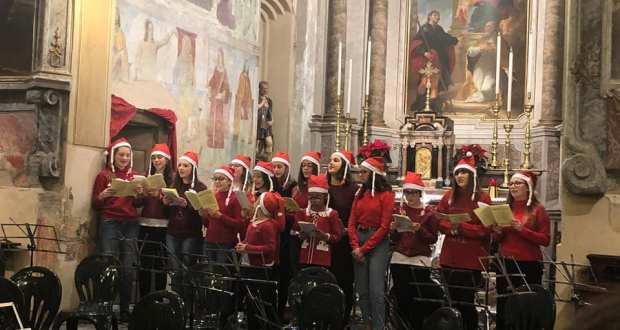 Il concerto di Santa Lucia nella chiesa di San Rocco