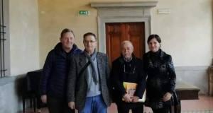 I rappresentanti dei sindacati dei pensionati