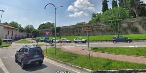 Il luogo dell'incidente a Rovato, foto da Google Maps