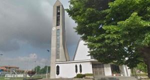 La chiesa di San Giovanni Bosco in stazione,