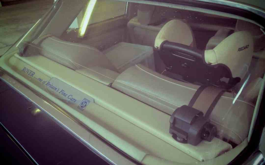 Fitting Inertia Reel Seatbelts to a Rover P5 and P5B