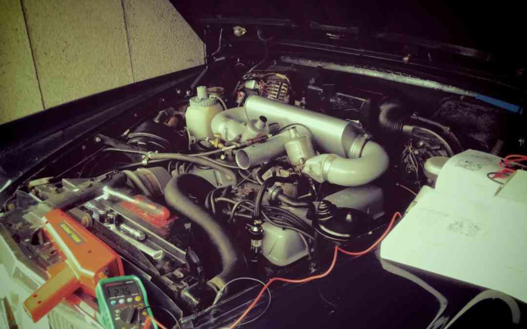 Rover P5B Engine Tune-Up