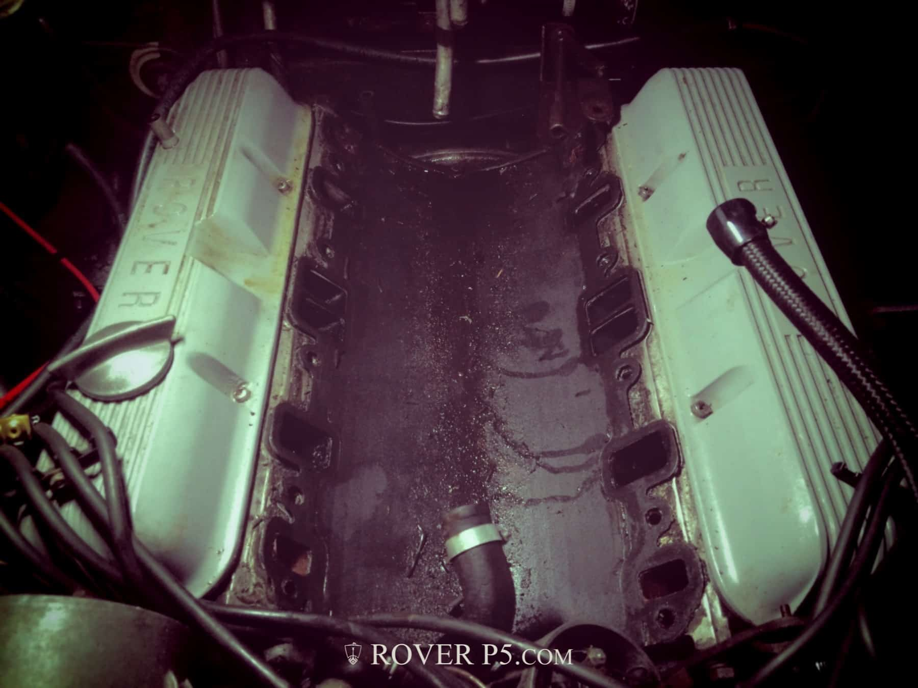 Into the Valley-Rover P5B Intake Manifold