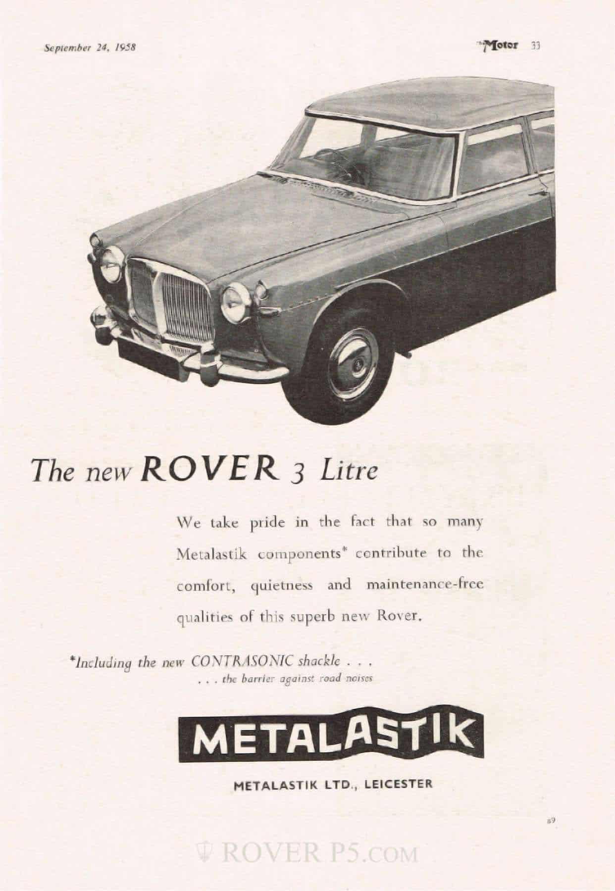 Advert - Metalastik Contrasonic Shackle 2
