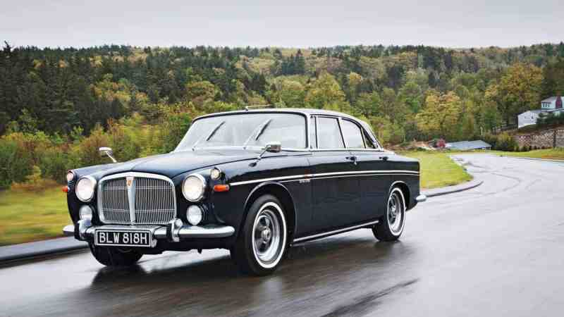 Motortrend.com: 1970 Rover 3.5 Litre Coupe Classic Drive