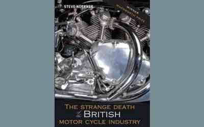 RoverP5.com Review [Book]: The Strange Death of the British Motor Cycle Industry