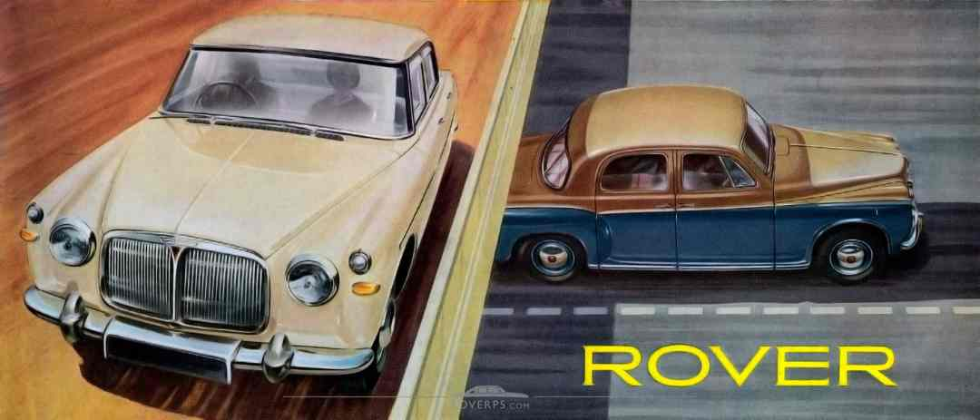 Brochure - 1959 - Rover - Front Cover