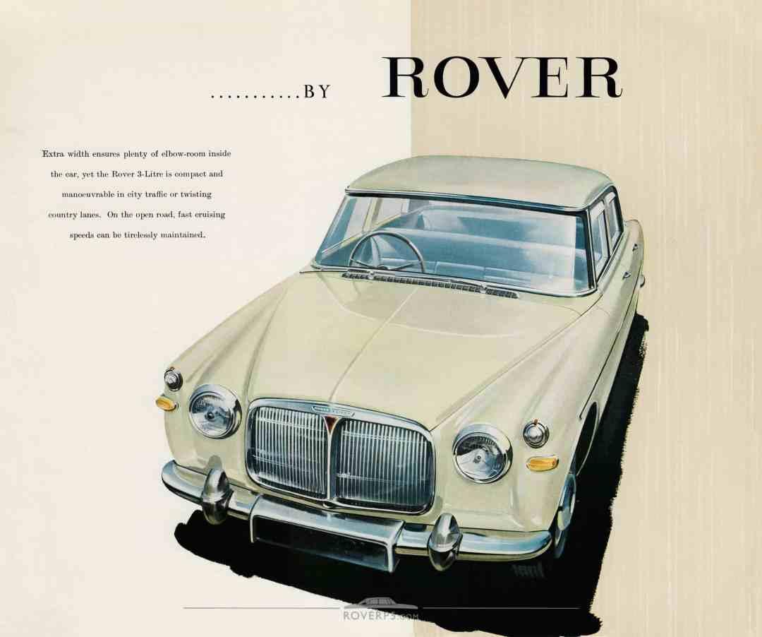 Brochure - 1959 - Rover The 3-Litre Saloon - Page 04