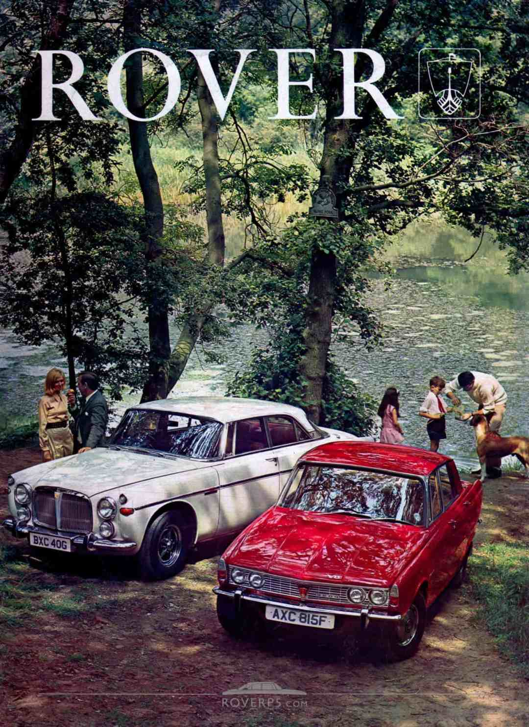 Brochure - 1968 - Rover - Front Cover